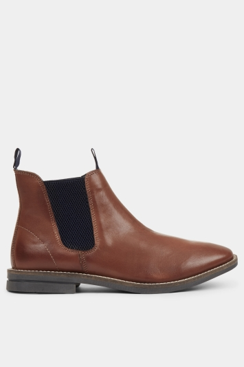 Moss London Chiltern Tan Chelsea Boot