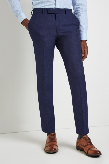Moss London Skinny Fit Violet Trousers