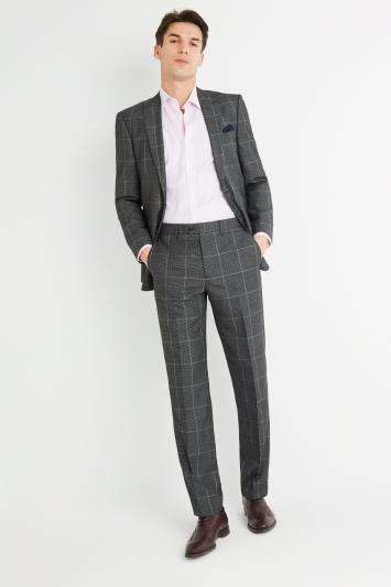 Moss Esq. Regular Fit Bold Prince of Wales Check Jacket