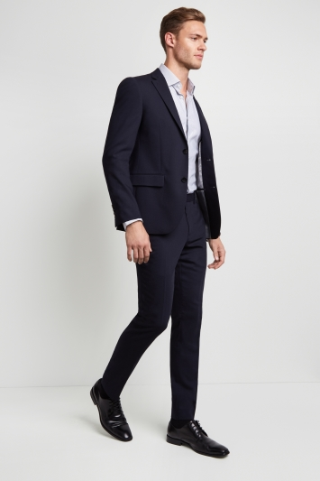 DKNY Slim Fit Navy Jacket