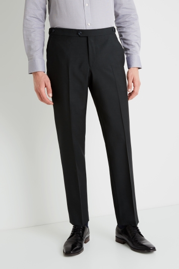 Savoy Taylors Guild Tailored Fit Dark Green Trousers