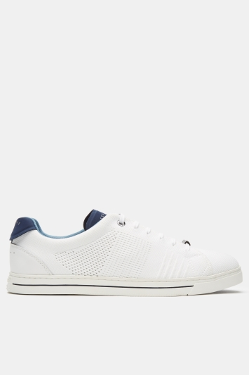 Ted Baker Plowns White Flyknit Trainer