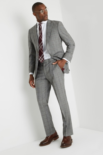 Savoy Taylors Guild Regular Fit Heritage Check Jacket