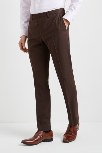 Moss 1851 Chocolate Brown Trousers