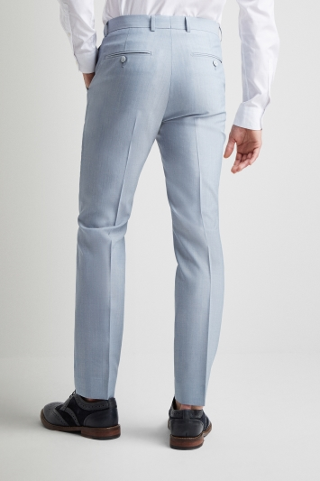 9ce7a9b1a15 French Connection Powder Blue Marl Trousers