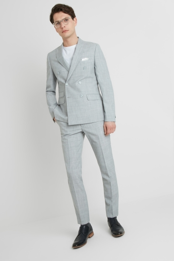 French Connection Slim Fit Pebble Marl DB Jacket