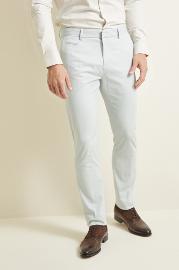 Moss London Slim Fit Pebble Stretch Chino