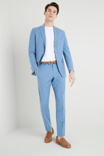 Moss 1851 Performance Tailored Fit Aqua Jacket