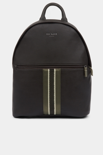 Ted Baker Standin Chocolate Webbing Backpack