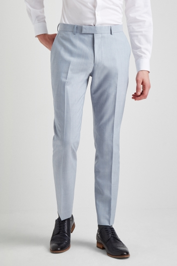French Connection Powder Blue Marl Trousers