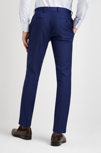 Moss 1851 Performance Silm Fit Royal Blue Trousers
