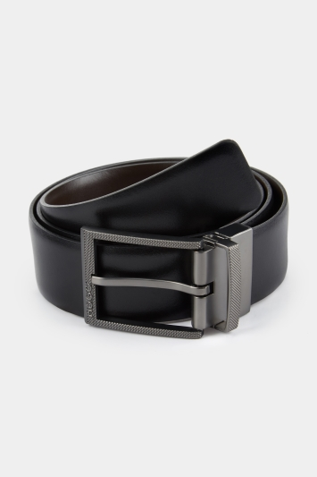 HUGO by Hugo Boss Reversible Black Buckle Belt