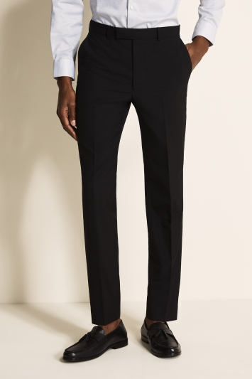 French Connection Slim Fit Black Trousers