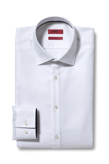Hugo by Hugo Boss White Oxford Shirt