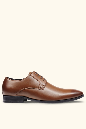 Moss London Fitzroy Tan Derby