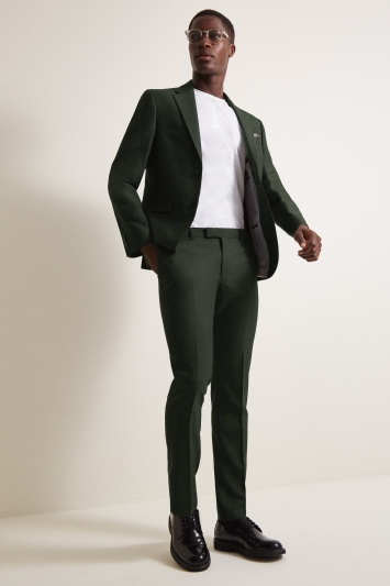 DKNY Slim Fit Military Green Jacket