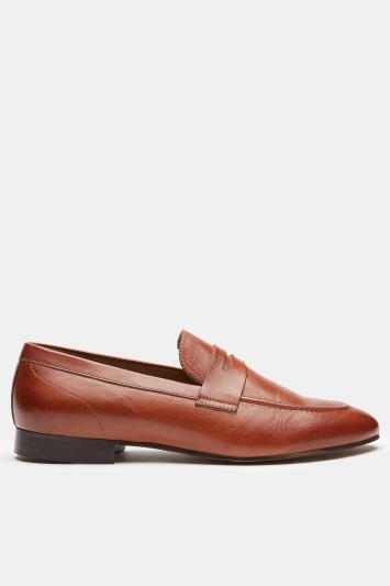 H by Hudson Bolton Tan Saddle Loafer
