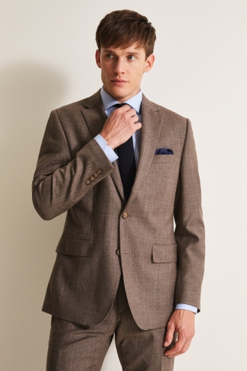Moss 1851 Performance Tailored Fit Biscuit Milled Jacket