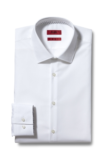 HUGO by Hugo Boss White With Trim Shirt