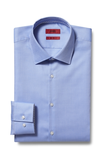 HUGO by Hugo Boss Tailored Fit Sky Oxford Shirt