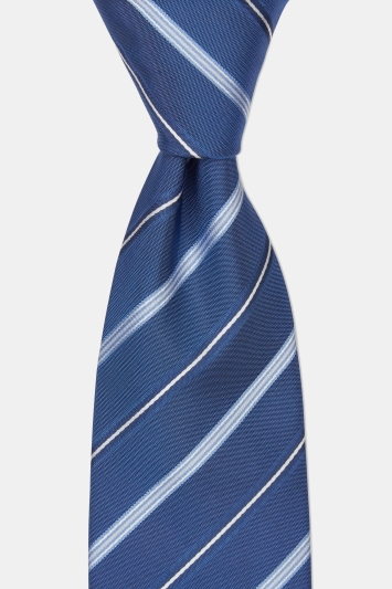 Hugo by Hugo Boss Blue Diagonal Stripe Tie
