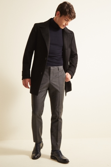 HUGO by Hugo Boss Black Midais Overcoat