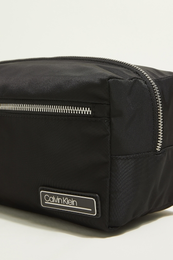 Calvin Klein Black Primary Washbag