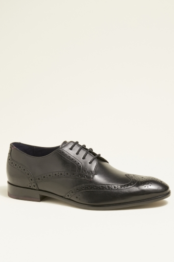 Ted Baker Trvss Black Brogue Derby