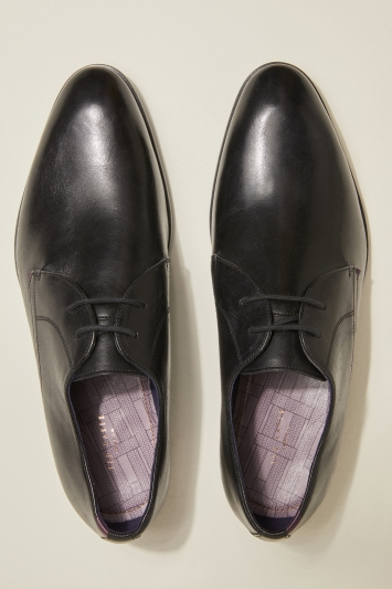 Ted Baker Sumpsa Black Plain Derby