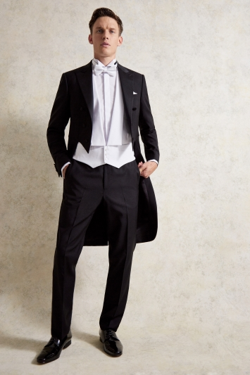 Moss Covent Garden Tailored Fit Evening Tails Jacket
