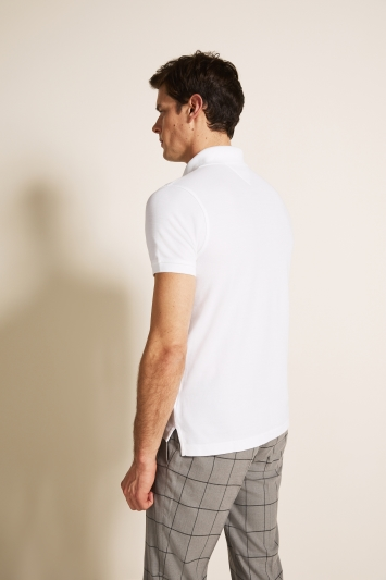 Tommy Hilfiger White Core Slim-Fit Polo Shirt