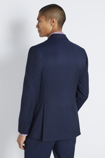 Moss 1851 Tailored Fit Ink Stretch Jacket