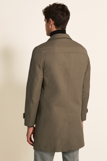 Moss 1851 Tailored Fit Tobacco Raincoat