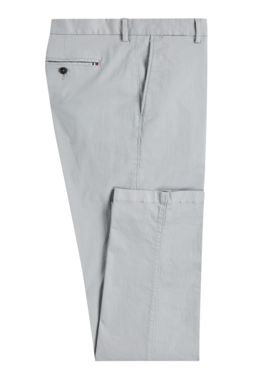 Tommy Hillfiger Slim Fit Grey Flex Trousers