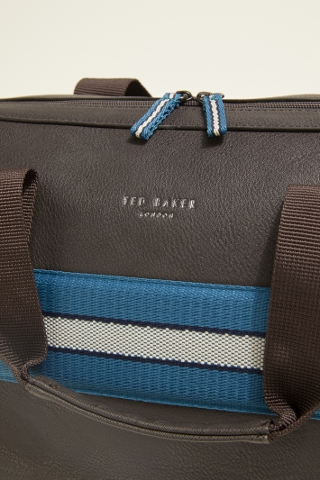 Ted Baker Empress Chocolate Webbing Holdall
