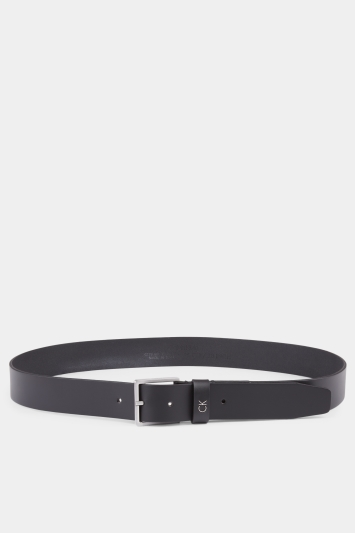 Calvin Klein Black Plaque Formal Belt
