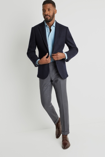 Moss 1851 Tailored Fit Navy Jacket