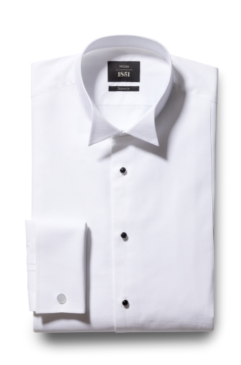 Moss 1851 Tailored Fit Marcella Wing Collar Dress Shirt