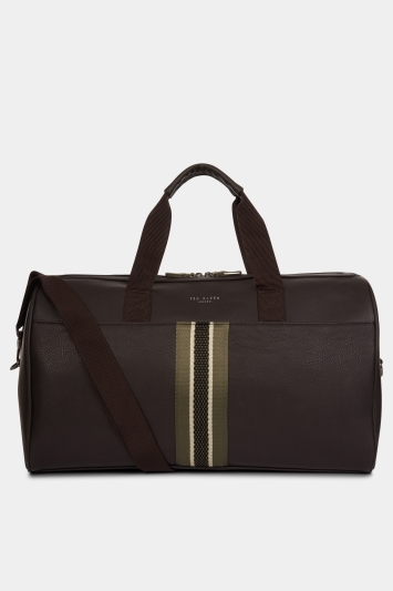 Ted Baker Yours Chocolate Webbing Holdall