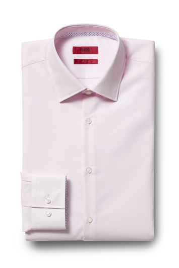 6872da42c HUGO by Hugo Boss Tailored Fit Pink Koey Shirt