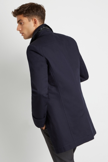 a41d8ae4 HUGO by Hugo Boss Tailored Fit Navy Twill Casual Jacket