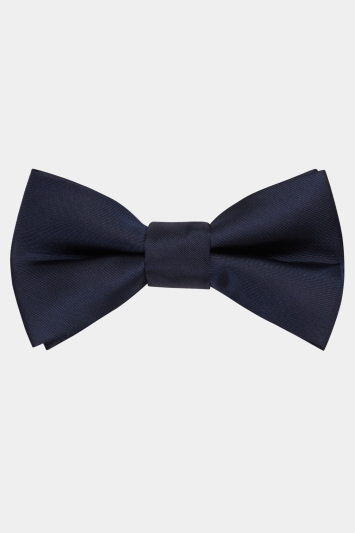 Moss London Navy Bow Tie