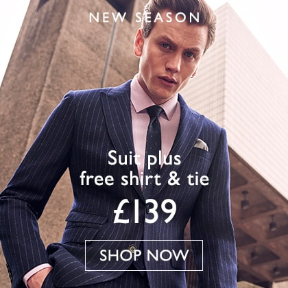 Suit + Free Shirt & Tie OPS