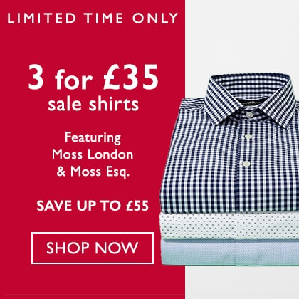 3 for £35 Sale Shirts HPS