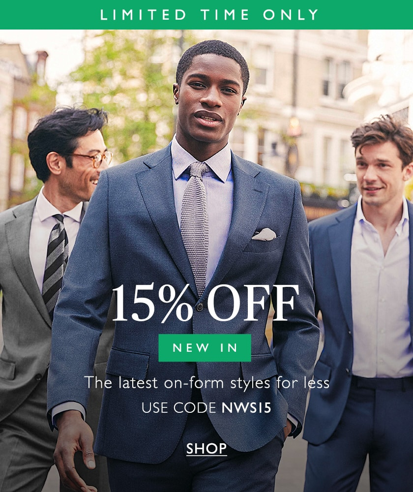 15% off new in