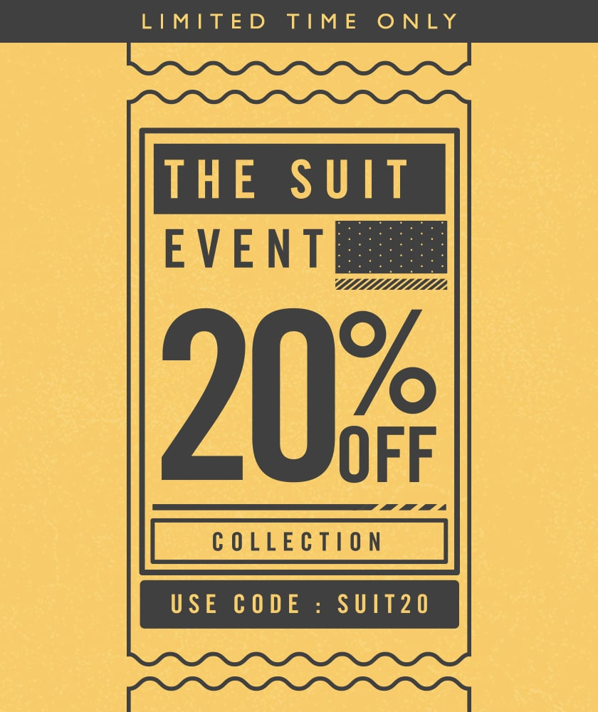 20% off Suit Event