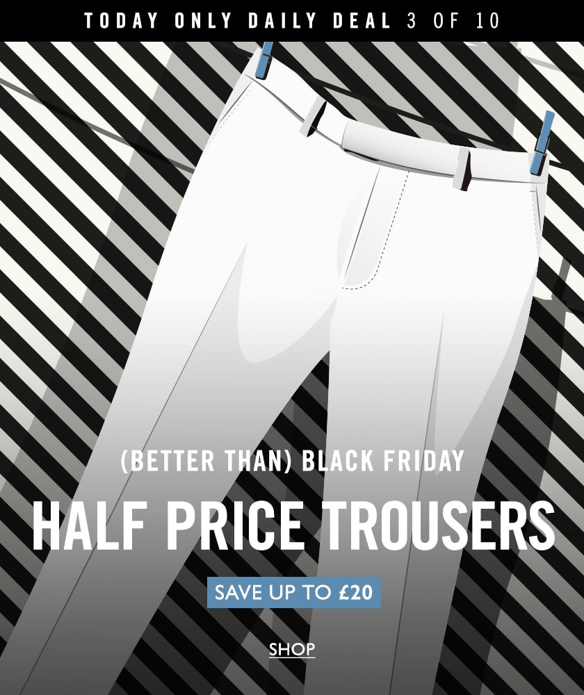 half price trousers