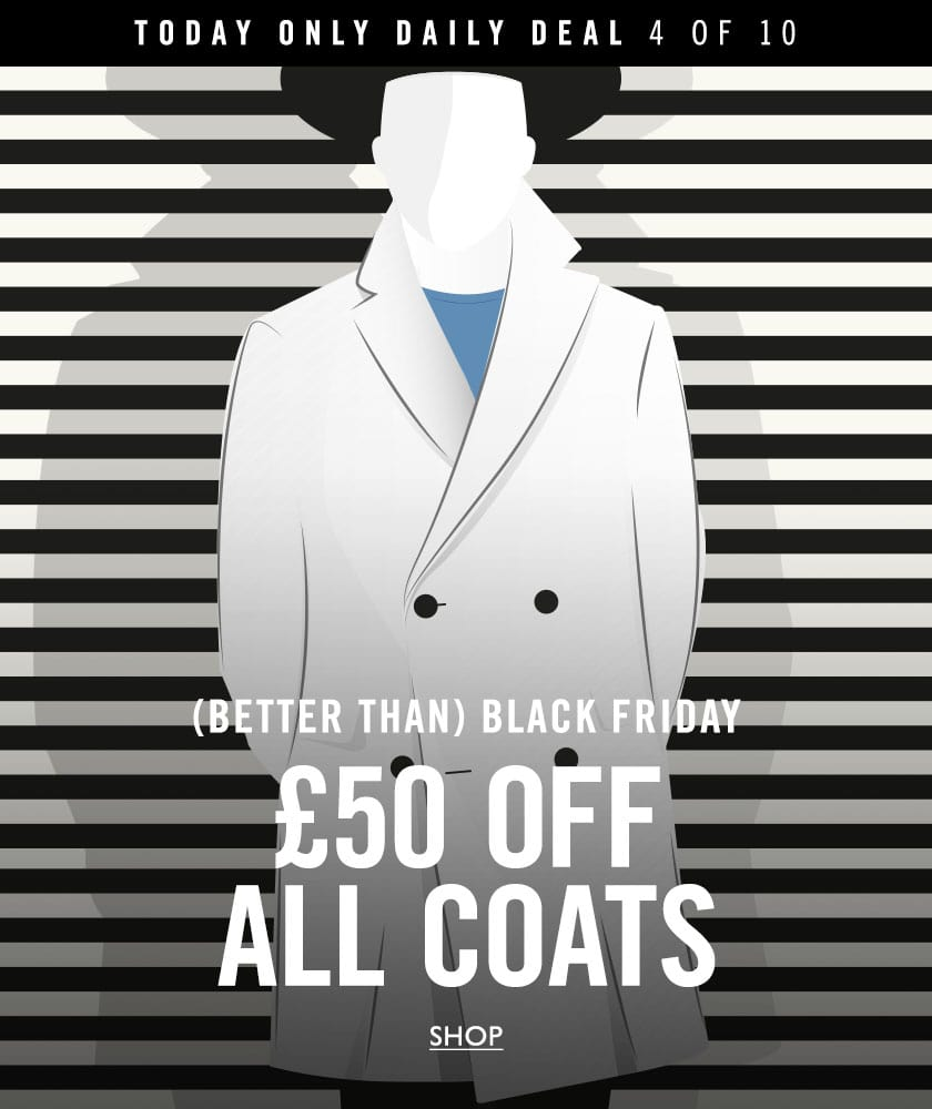 Daily deal 4 - £50 off coats