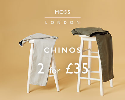 2 for £35 Chinos