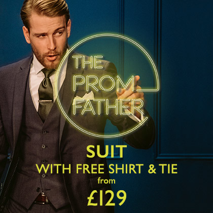 Prom Suit + Free Shirt & Tie